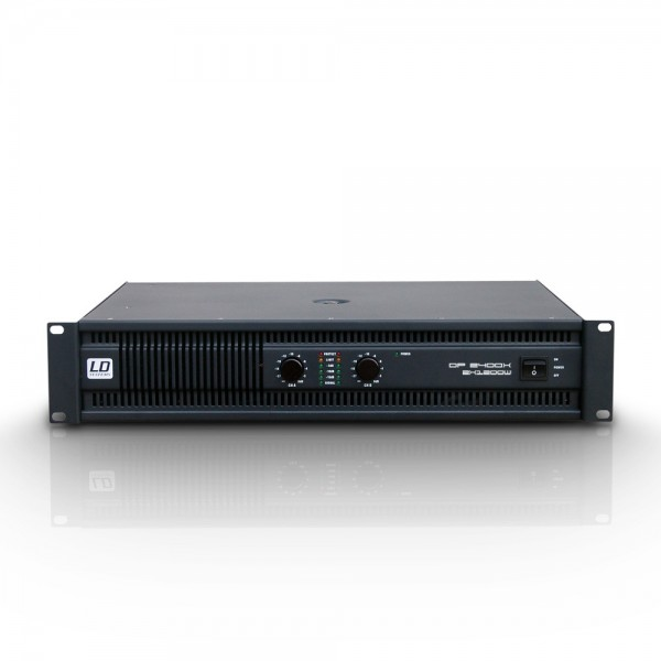 LD Systems DEEP2 2400 X Endstufe