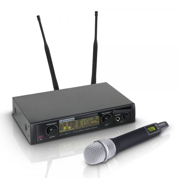 LD Systems Funkmikrofon WIN42, Kondensator